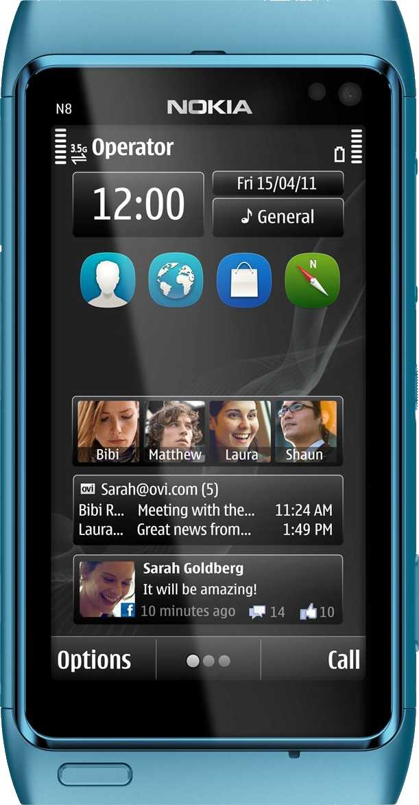 Samsung Galaxy ACE S5830 vs Nokia N8