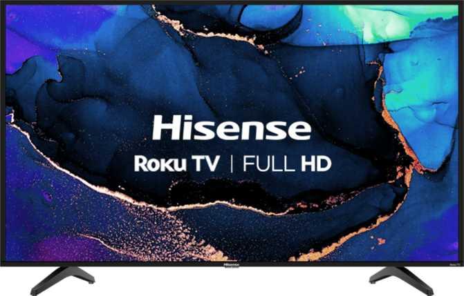 "Hisense H4G 43"""