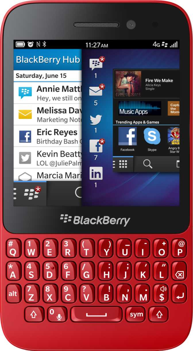 BlackBerry Q5 vs RIM BlackBerry Torch 9800