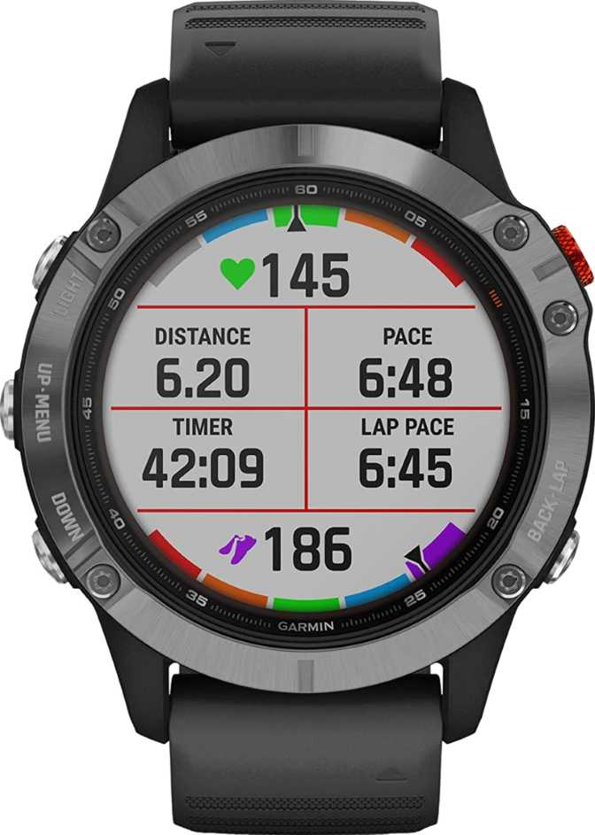 Apple Watch Series 6 GPS 40mm vs Garmin Fenix 6 Solar