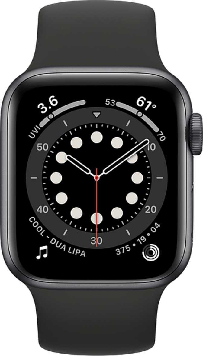 Apple Watch Series 6 vs Apple Watch Series 6 GPS 40mm