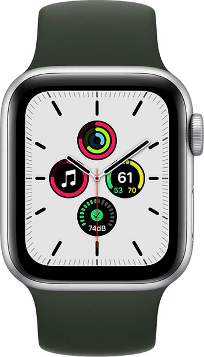 Apple Watch Series 5 GPS + Cellular Titanium Case 44mm vs Apple Watch SE