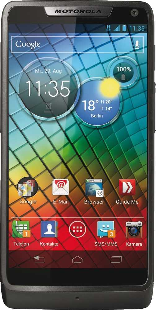 HTC First vs Motorola RAZR i XT890