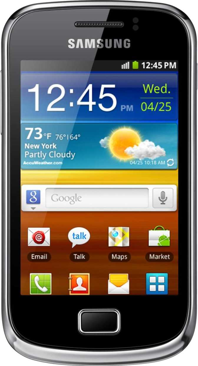 Samsung Galaxy Nexus vs Samsung Galaxy mini 2 S6500