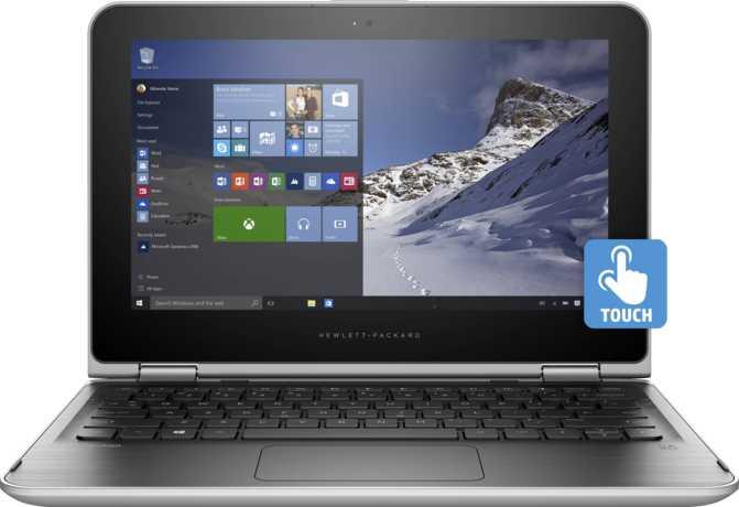 "HP Pavilion x360 11t Touch 11.6"" Intel Celeron N2840 2.16GHz / 4GB / 500GB"