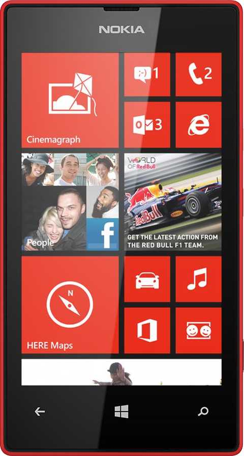 LG Optimus L5 E610 vs Nokia Lumia 520
