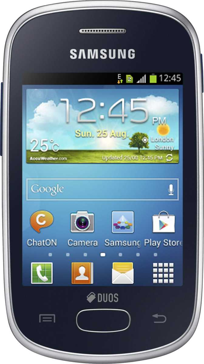 Samsung Galaxy Star S5280 vs HTC One mini 2