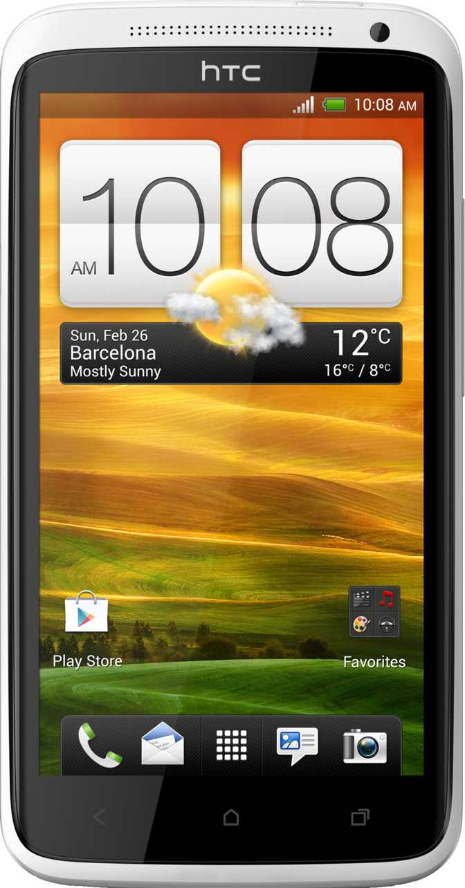 Sony Xperia S vs HTC One X