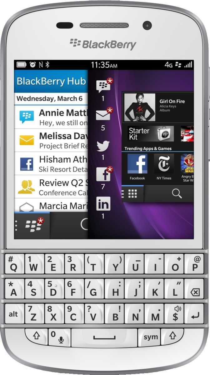 HTC Windows Phone 8X vs BlackBerry Q10