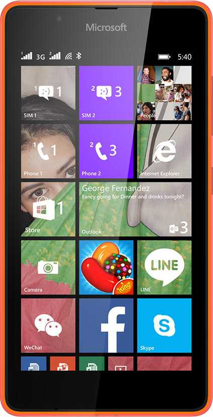 Alcatel One Touch Idol X+ vs Microsoft Lumia 540