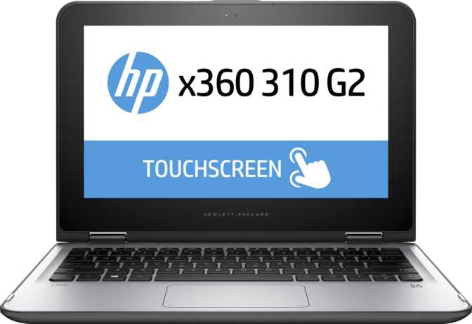 """HP x360 310 G2 11.6"""" Intel Celeron N3050 1.6GHz / 4GB / 128GB"""