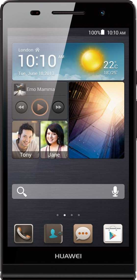 Huawei Ascend P6 vs Sony Ericsson Xperia Arc