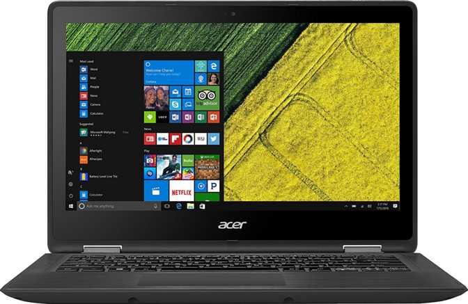 "Acer Spin 5 13.3"" Intel Core i3-7100U / 2.4GHz / 4GB /128GB SSD"