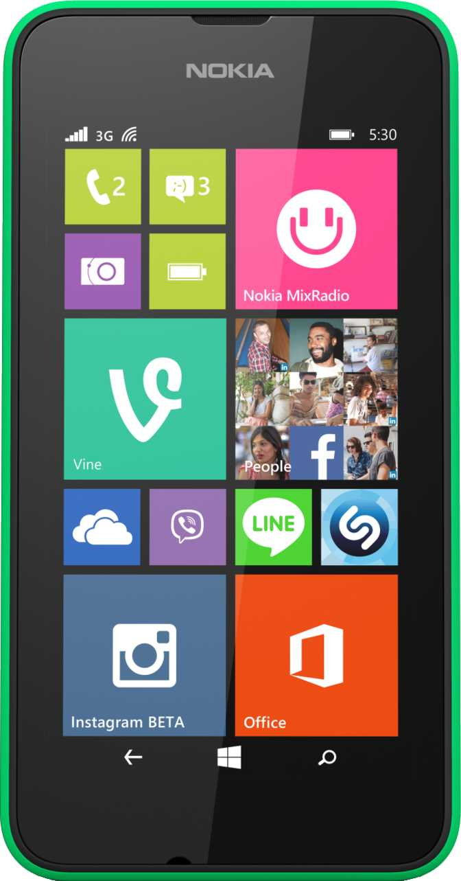Nokia Lumia 530 vs Samsung Galaxy S4