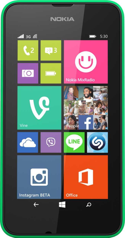 Nokia Lumia 520 vs Nokia Lumia 530