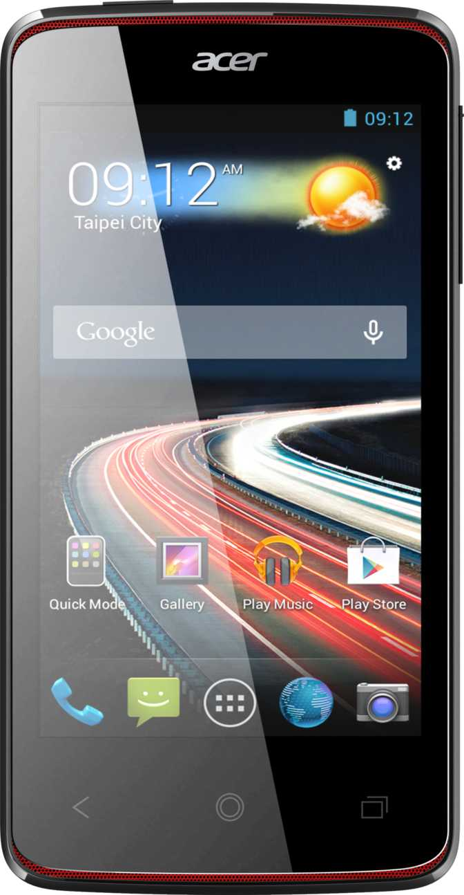 Acer Liquid Z4 vs LG Optimus L5 Dual E615