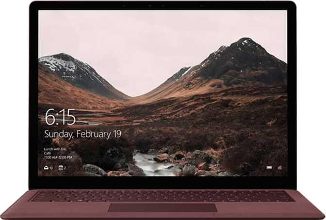 "Microsoft Surface Laptop 13.5"" Intel Core i7-7660U / 16GB / 512GB"