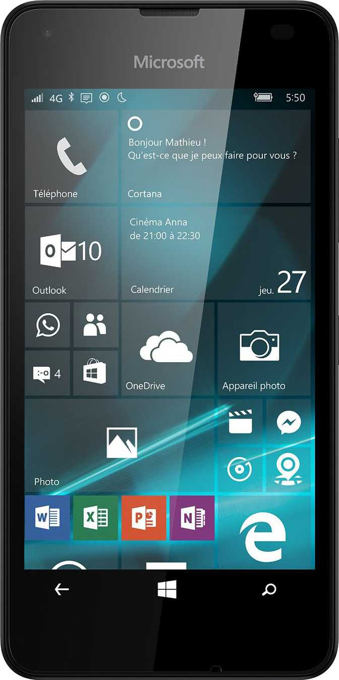 HTC Desire 320 vs Microsoft Lumia 550
