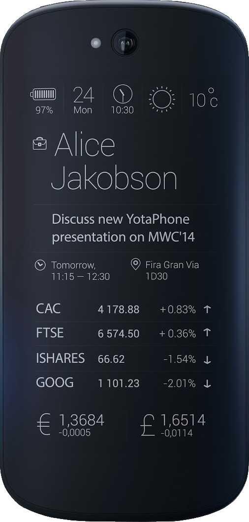 YotaPhone 3 vs YotaPhone 2014