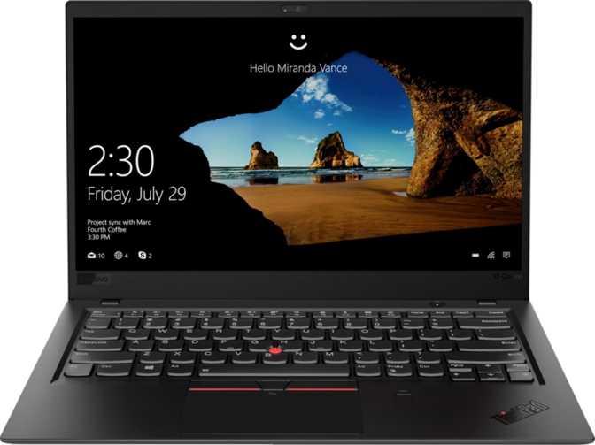 "Lenovo ThinkPad X1 Carbon (2018) 14"" FHD IPS Intel Core i7-8650U 1.9GHz / 16GB / 1TB SSD"