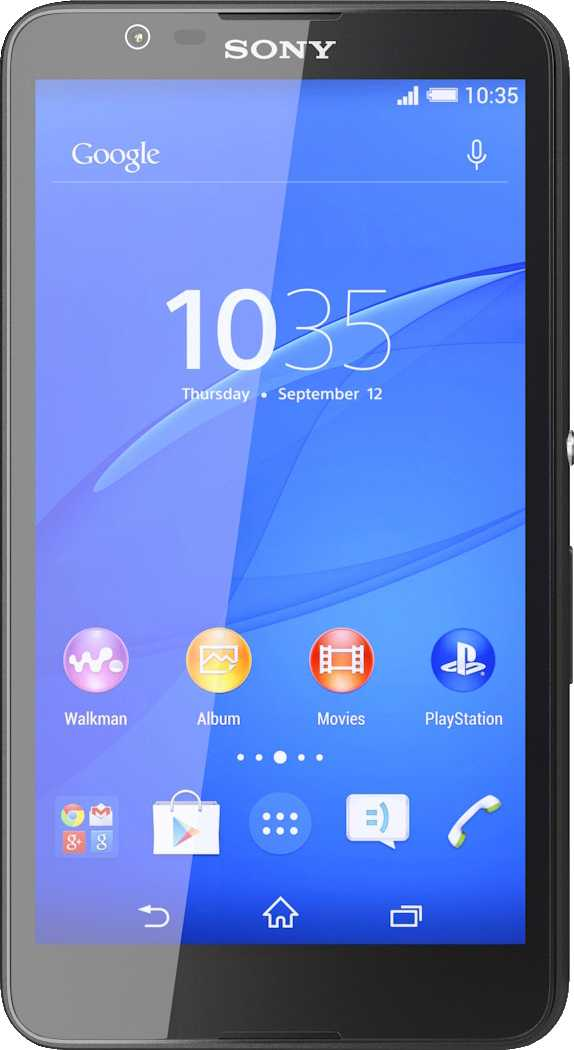General Mobile GM5 Plus vs Sony Xperia E4