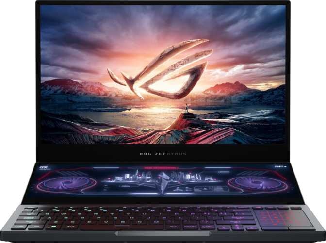 Asus ROG Zephyrus Duo 15 GX550LXS Intel Core i9-10980HK 2.4GHz / 32GB RAM / 2TB SSD