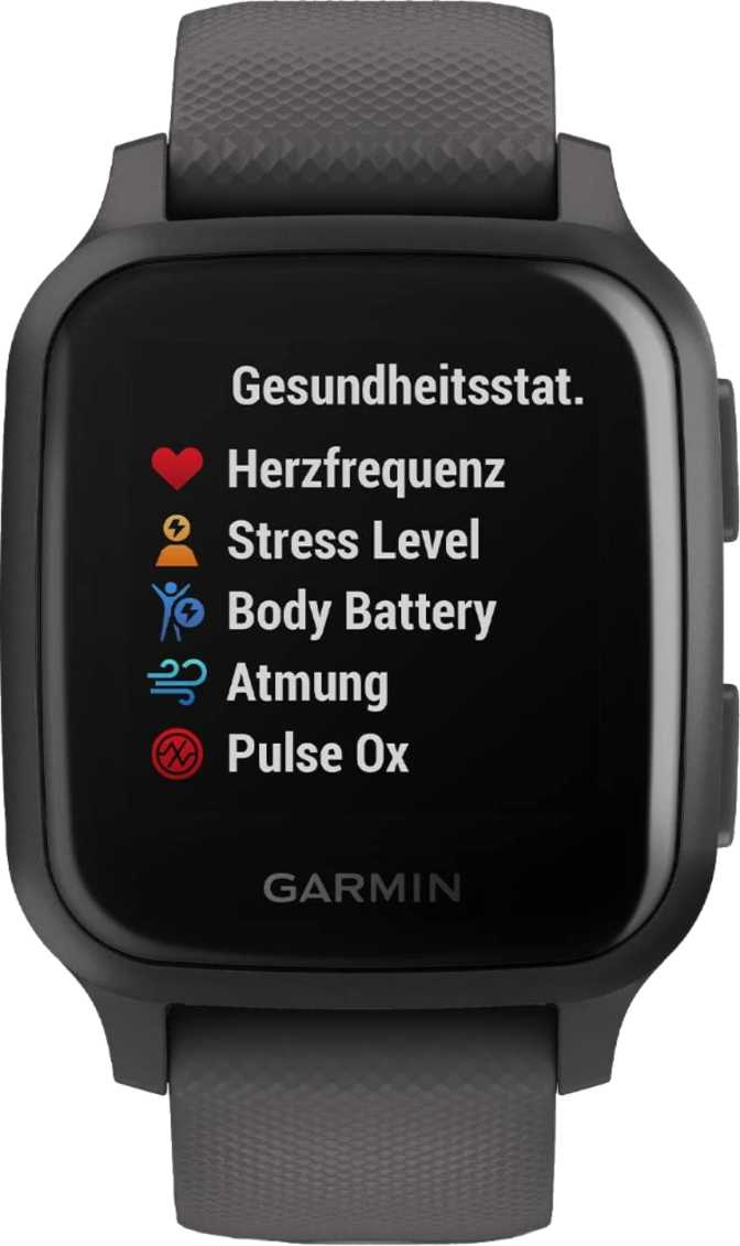 Apple Watch Series 6 GPS 40mm vs Garmin Venu Sq