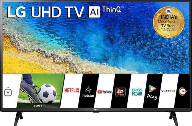 """TCL LE50UHDE5691 vs LG Smart LED TV 43UM7290PTF 43"""""""