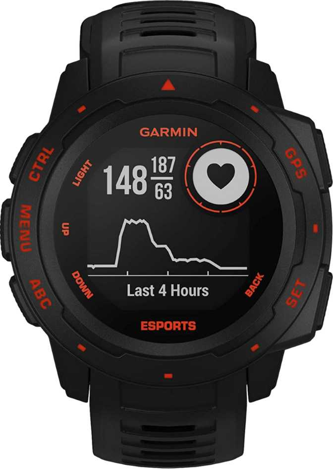 Garmin Instinct Esports Edition vs Apple Watch Series 6 GPS 40mm