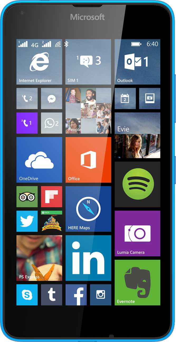 Microsoft Lumia 640 LTE vs Samsung Galaxy Ace Plus S7500