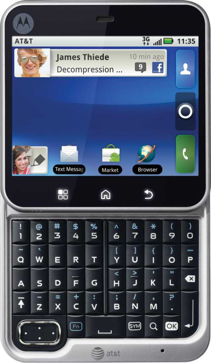 Motorola FlipOut vs HTC Legend